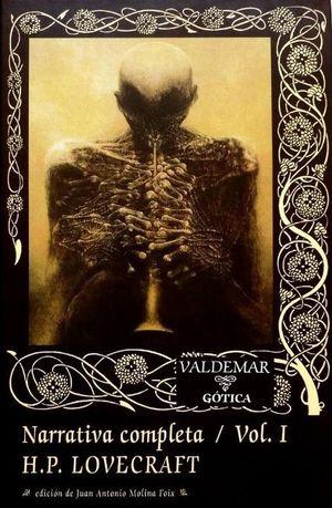 Narrativa completa. H.P. Lovecraft / vol. 1 / pd.