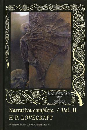 Narrativa completa. H.P. Lovecraft / vol. 2 / pd.