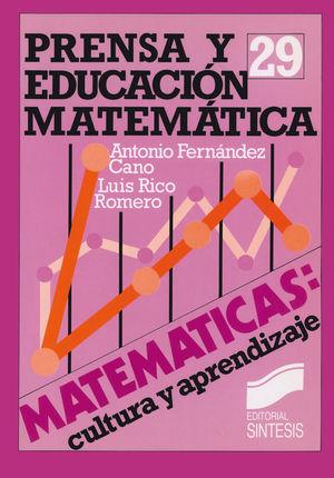 PRENSA Y EDUCACION MATEMATICA