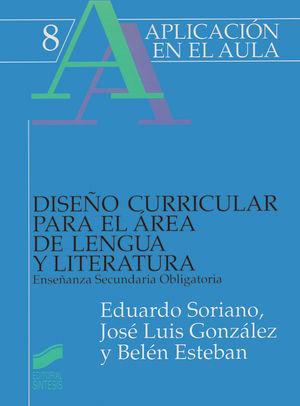 DISEÑO CURRICULAR PARA EL AREA DE LENGUA Y LITERATURA