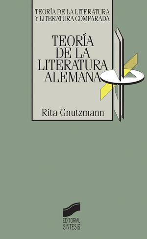 TEORIA DE LA LITERATURA ALEMANA