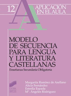 MODELO DE SECUENCIA PARA LENGUA Y LITERATURA CAST