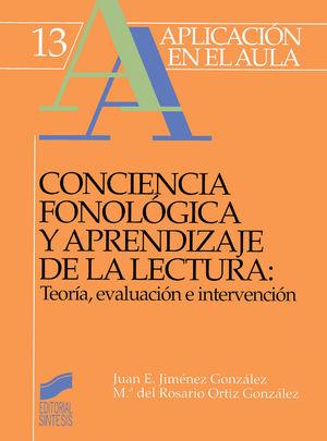 CONCIENCIA FONOLOGICA Y APRENDIZAJE DE LA LECTURA