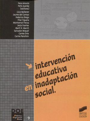 INTERVENCION EDUCATIVA EN INADAPTACION SOCIAL