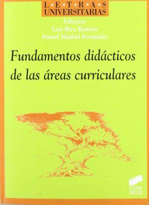 FUNDAMENTOS DIDACTICOS DE LAS AREAS CURRICULARES
