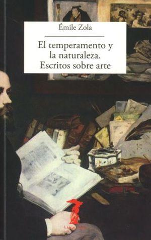 TEMPERAMENTO Y LA NATURALEZA, EL. ESCRITOS SOBRE ARTE