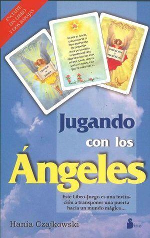JUGANDO CON LOS ANGELES (CAJA LIBRO + 2 BARAJAS)