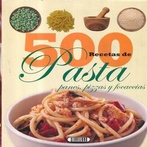 500 RECETAS DE PASTA