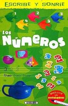 COL. ESCRIBE Y SONRIE 2 TITULOS. LOS NUMEROS / EL ABECEDARIO / PD.