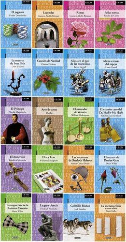Literatura universal / 20 títulos (venta individual)