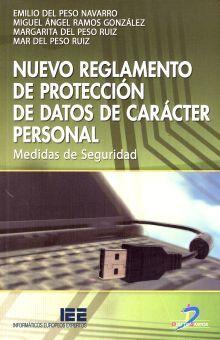 NUEVO REGLAMENTO DE PROTECCION DE DATOS DE CARACTER PERSONAL. MEDIDAS DE SEGURIDAD
