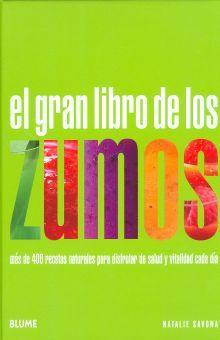 GRAN LIBRO DE LOS ZUMOS, EL / PD.