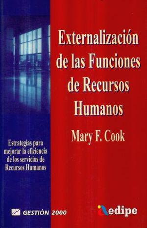 EXTERNALIZACION DE LAS FUNCIONES DE RECURSOS HUMANOS