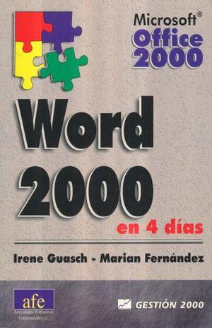WORD 2000 EN 4 DIAS
