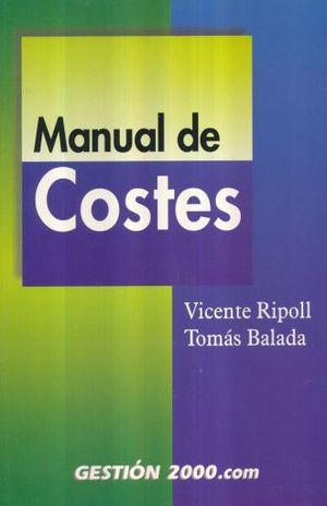 MANUAL DE COSTES