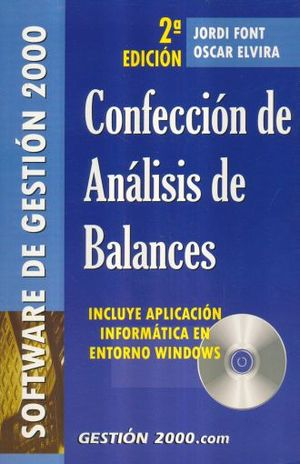 CONFECCION DE ANALISIS DE BALANCES / 2 ED. (INCLUYE CD)