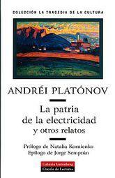PATRIA DE LA ELECTRICIDAD Y OTROS RELATOS, LA / PD.