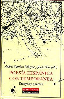POESIA HISPANICA CONTEMPORANEA