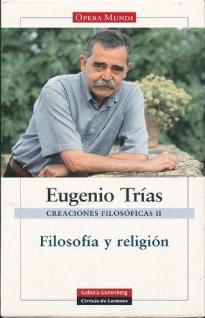 FILOSOFIA Y RELIGION / PD.