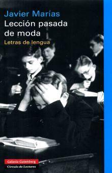 LECCION PASADA DE MODA. LETRAS DE LENGUA / PD.