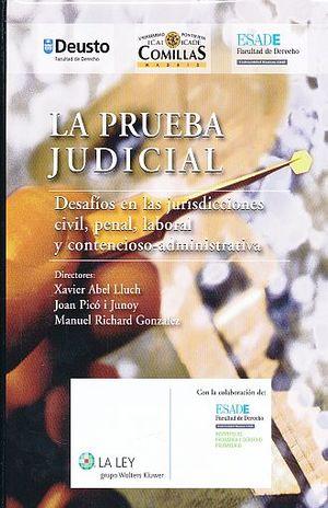 PRUEBA JUDICIAL, LA / PD.