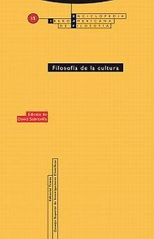 FILOSOFIA DE LA CULTURA / 2 ED.