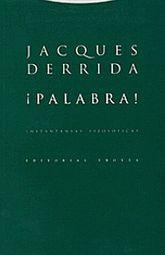 PALABRA / INSTANTANEAS FILOSOFICAS