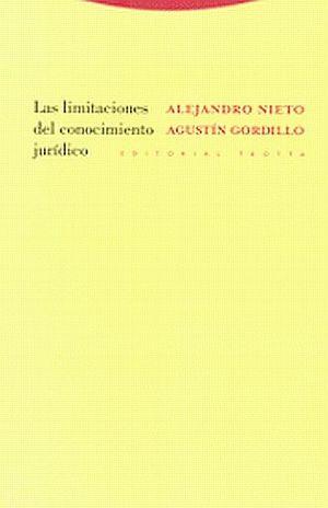 LIMITACIONES DEL CONOCIMIENTO JURIDICO, LAS