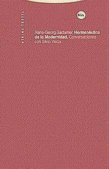 HERMENEUTICA DE LA MODERNIDAD