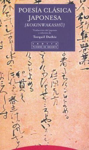 POESIA CLASICA JAPONESA. KOKINWAKASHU