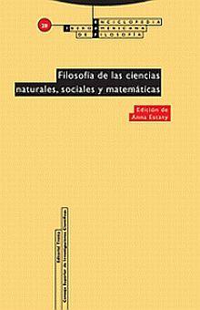 FILOSOFIA DE LAS CIENCIAS NATURALES SOCIALES Y MATEMATICAS