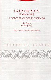 CARTA DEL ADIOS Y OTROS TRATADOS FILOSOFICOS