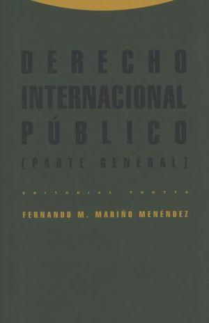 DERECHO INTERNACIONAL PUBLICO. PARTE GENERAL