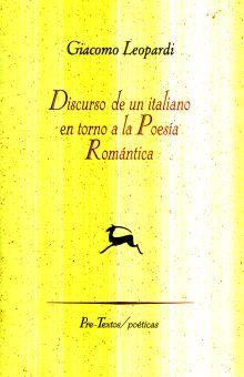 DISCURSO DE UN ITALIANO EN TORNO A LA POESIA ROMANTICA