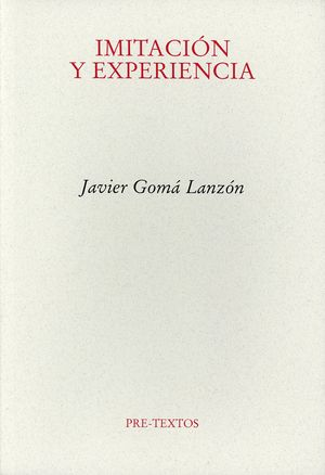 Imitación y experiencia / 3 ed.