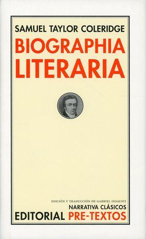 Biographia literaria / pd.