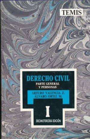 DERECHO CIVIL / TOMO IV PARTE GENERAL Y PERSONAS / 13 ED. / PD.