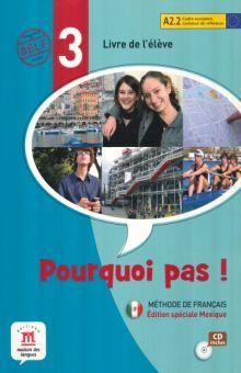 POURQUOI PAS 3 LIVRE DE L ELEVE (CD INCLUS)