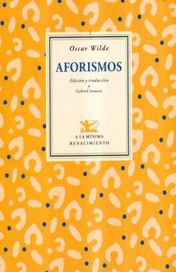 AFORISMOS / OSCAR WILDE