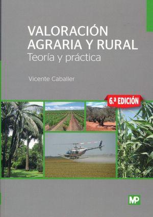 Valoración agraria y rural / 6 ed.