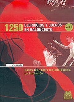 1250 EJERCICIOS Y JUEGOS EN BALONCESTO / 3 VOLS