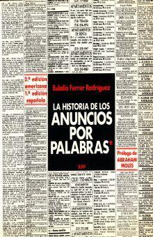 HISTORIA DE LOS ANUNCIOS POR PALABRAS, LA
