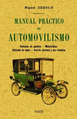 MANUAL PRACTICO DE AUTOMOVILISMO (FACSIMILAR)