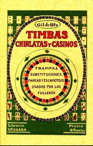 TIMBAS CHIRLATAS Y CASINOS (FACSIMILAR)
