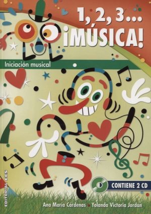 1 2 3 MUSICA  (INCLUYE 2 CD)