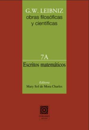 ESCRITOS MATEMATICOS / OBRAS FILOSOFICAS Y CIENTIFICAS 7A / PD.