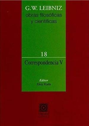 CORRESPONDENCIA 5 / OBRAS FILOSOFICAS Y CIENTIFICAS 18 / PD.