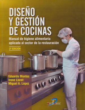 Diseño y gestión de cocinas / 3 ed.