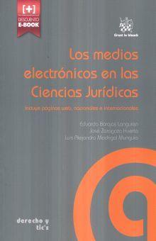 MEDIOS ELECTRONICOS EN LAS CIENCIAS JURIDICAS, LOS