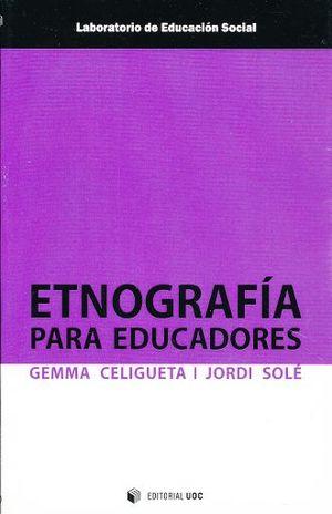 ETNOGRAFIA PARA EDUCADORES